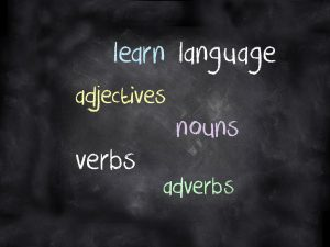 Linking Speech & Language To Literacy